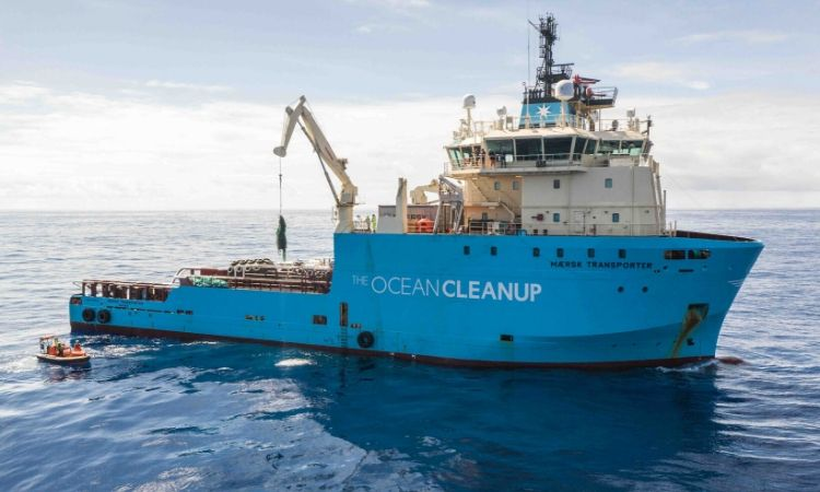 the ocean cleanup project collecting ghostnets