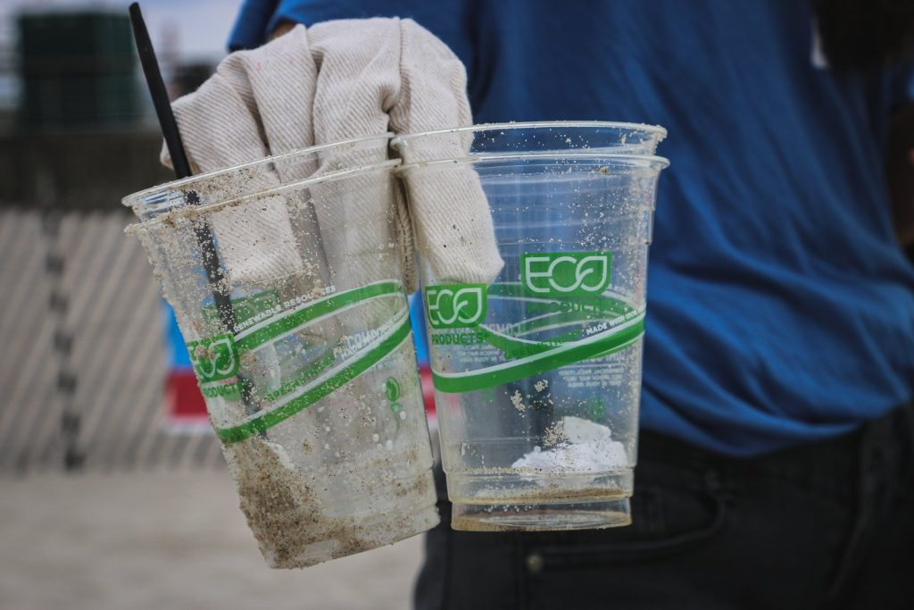 what is greenwashing example of eco plastic