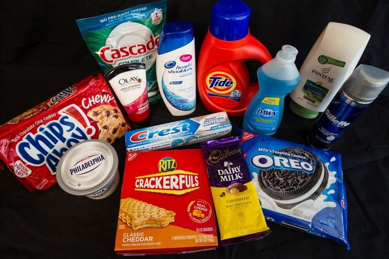 products containing palm oil